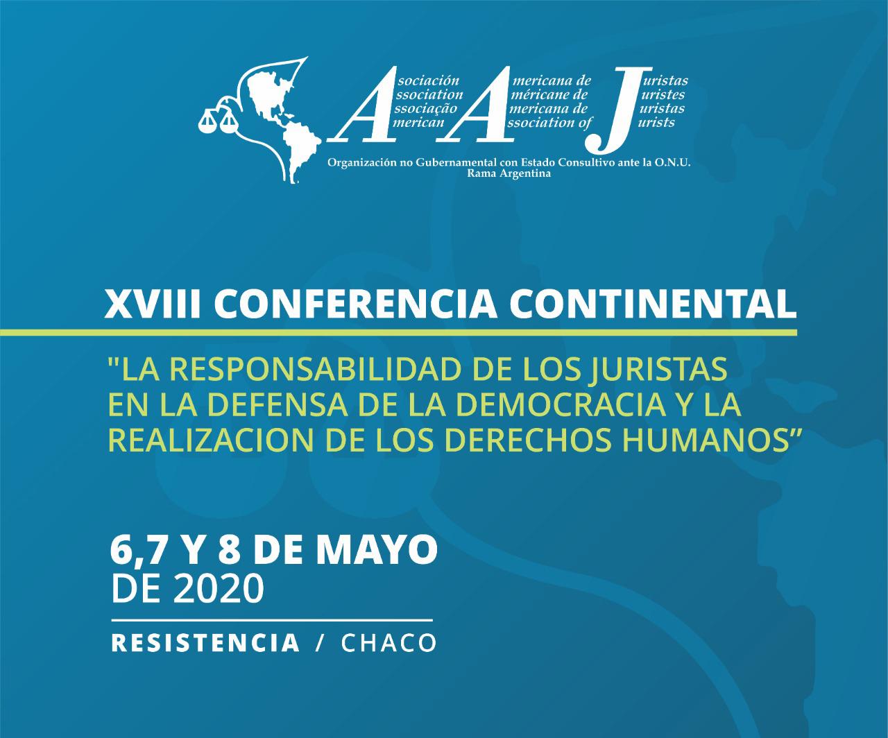 XVIII Conferencia Continental